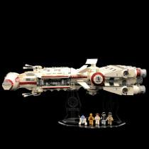 Acryl Deko Präsentation Standfuss LEGO Modell 10198 Tantive IV