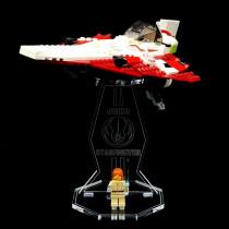 Acryl Display Stand - Acrylglas Modell Standfuss für LEGO 7143 Jedi Starfighter