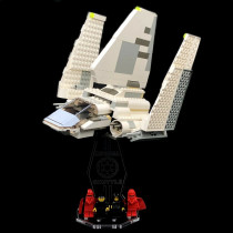 Acryl Display Stand - Acrylglas Modell Standfuss für LEGO 7166 Imperial Shuttle
