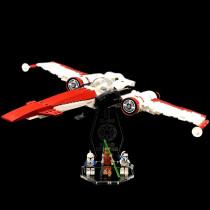 Acryl Deko Präsentation Standfuss LEGO Modell 75004 Z-95 Headhunter
