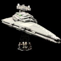 Acryl Display Stand - Acrylglas Modell Standfuss für LEGO 75055 Imperial Star Destroyer