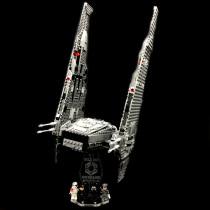 Acryl Deko Präsentation Standfuss LEGO Modell 75104 Kylo Ren´s Command Shuttle