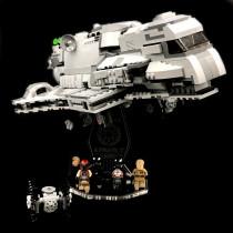 Acryl Deko Präsentation Standfuss LEGO Modell 75106 Imperial Assault Carrier