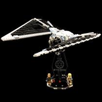 Acryl Deko Präsentation Standfuss LEGO Modell 75154 TIE Striker