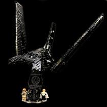 Acryl Deko Präsentation Standfuss LEGO Modell 75156 Krennic´s Imperial Shuttle