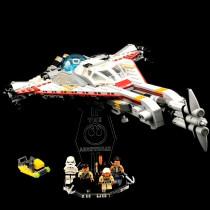 Acryl Deko Präsentation Standfuss LEGO Modell 75186 The Arrowhead