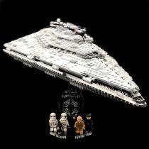 Acryl Deko Präsentation Standfuss LEGO Modell 75190 First Order Star Destroyer