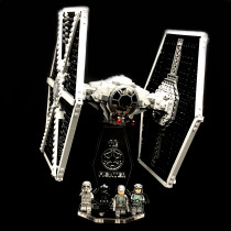 Acryl Deko Präsentation Standfuss LEGO Modell 75211 Imperial Tie Fighter