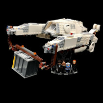 Acryl Deko Präsentation Standfuss LEGO Modell 75219 Imperial AT-Hauler