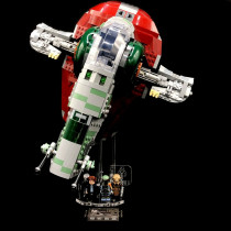 Acryl Display Stand - Acrylglas Modell Standfuss für LEGO 75243 Slave I