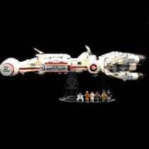 Acryl Deko Präsentation Standfuss LEGO Modell 75244 Tantive IV