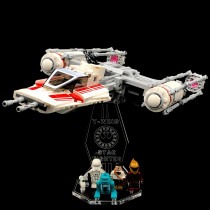 Acryl Deko Präsentation Standfuss LEGO Modell 75249 Resistance Y-Wing Starfighter