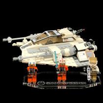 Acryl Display Stand - Acrylglas Modell Standfuss für LEGO 75259 Star Wars Snowspeeder