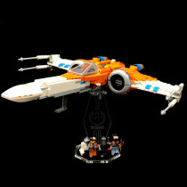 Acryl Display Stand - Acrylglas Modell Standfuss für LEGO 75273 Poe Damerons X-Wing Starfighter