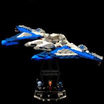 Acryl Display Stand - Acrylglas Modell Standfuss für LEGO 75316 Mandalorian Starfighter