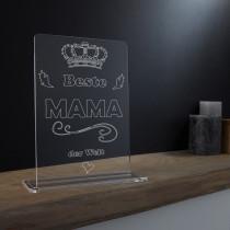 Acrylglas Pokal / Aufsteller für die Familie