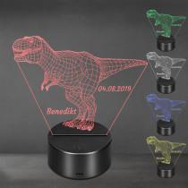 Acrylglas Aufsteller / Nachtlicht - T-Rex