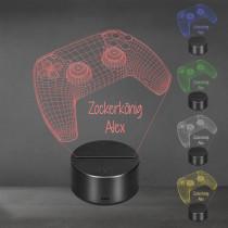 Acrylglas Aufsteller / Nachtlicht - Playstation