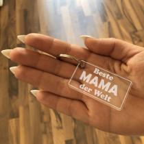 Acrylglas Schlüsselanhänger / Schlüsselanhänger für die Familie