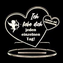 Scheiss auf Valentinstag Ich liebe dich jeden einzelnen Tag